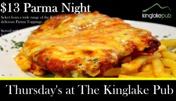 Thursday Parma Night