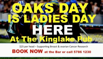 OAKS DAY is LADIES DAY